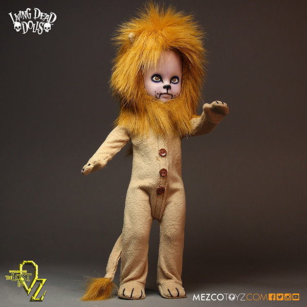 Living Dead Dolls - The Lost in Oz - Lion