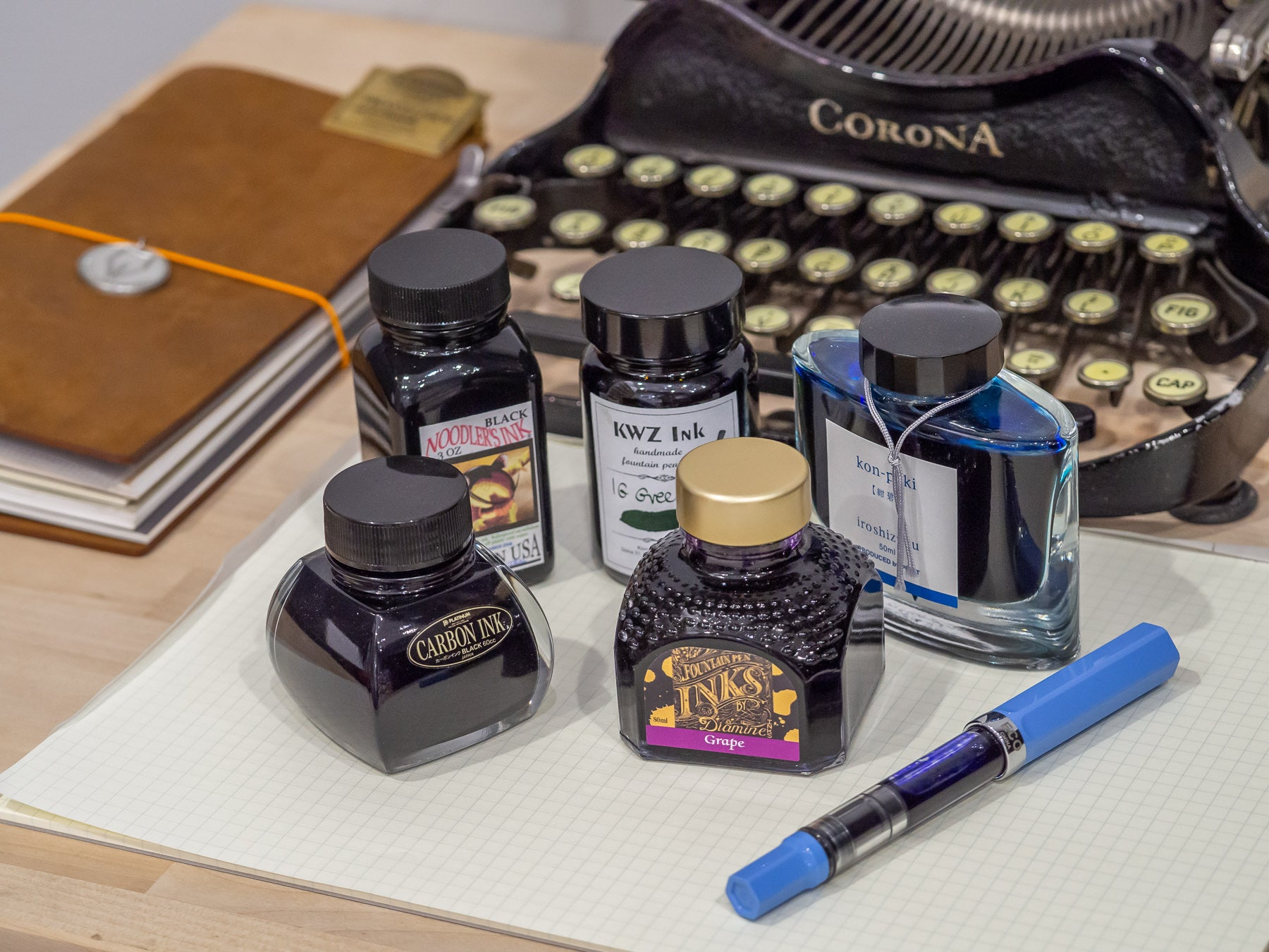 Fountain Pens: The Different Types Of Ink