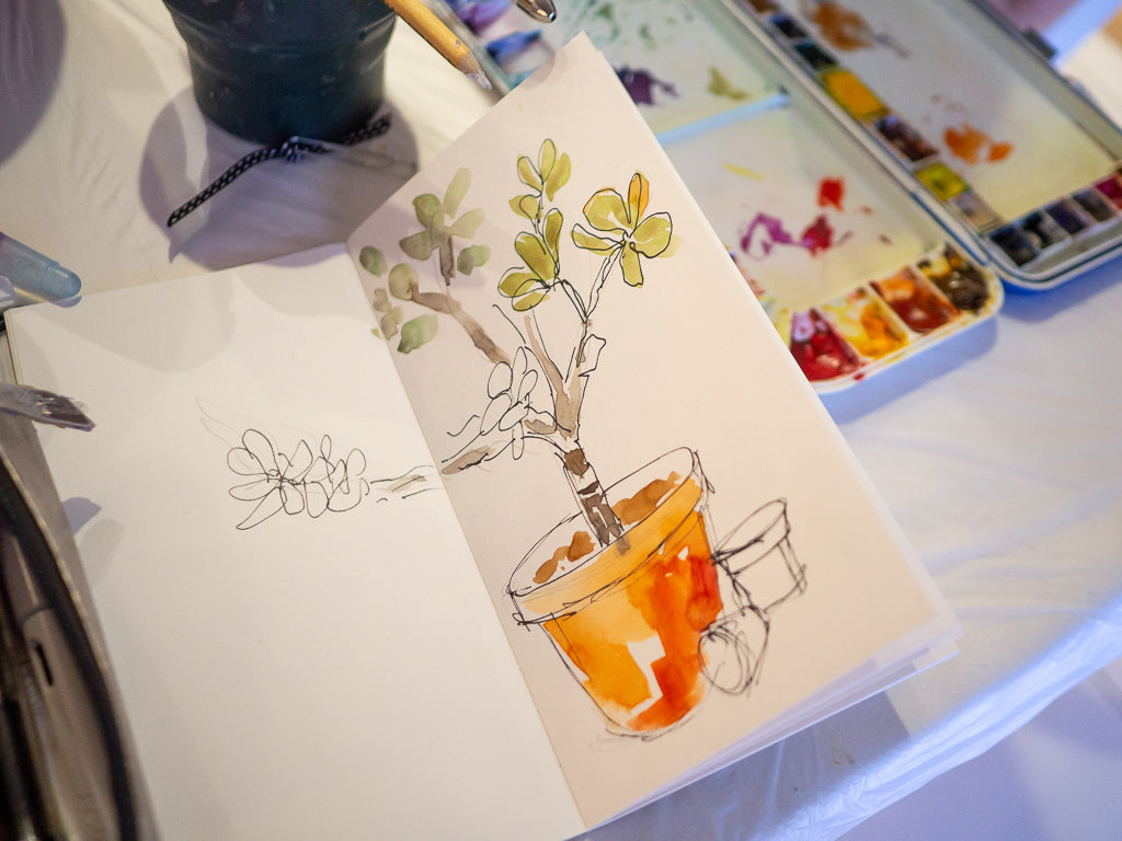Watercolour Workshop with Carol Beckx
