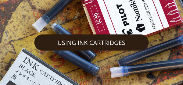Using Ink Cartridges