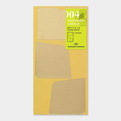 Travelers Notebook 004 Refill Sticky Pockets