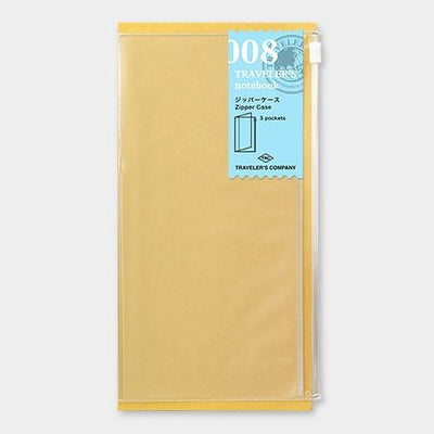 Travelers Notebook 008 Refill Zipper Pocket - Regular