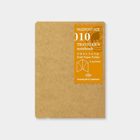 Travelers Notebook 010 Refill Kraft File - Passport