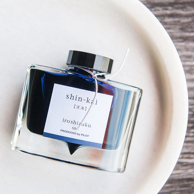 "Shin-kai ""Deep Sea"" Iroshizuku Fountain Pen Ink 50ml"