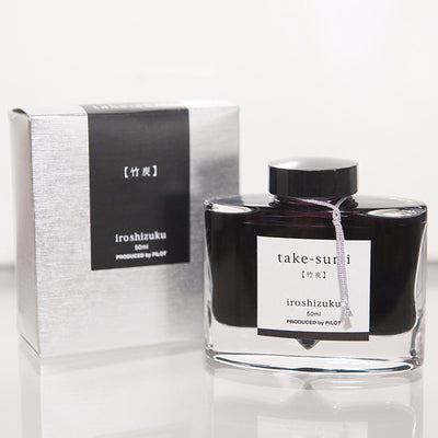 "Take-sumi ""Bamboo Charcoal"" Iroshizuku Ink 50ml"