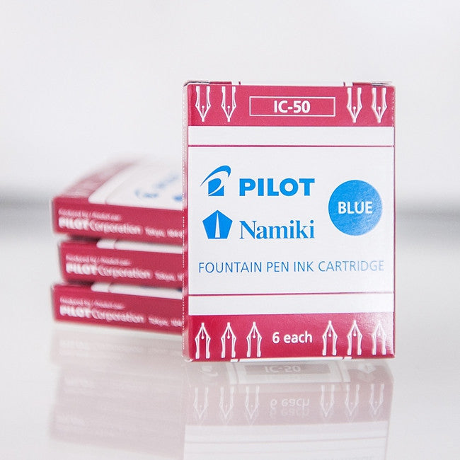 Pilot Namiki IC-50 Ink Cartridges - Blue