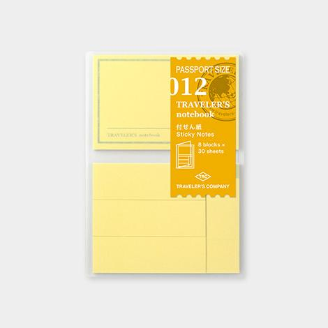 Travelers Notebook 012 Refill Sticky Notes - Passport