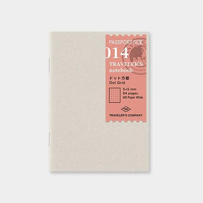 Travelers Notebook 014 Refill Dot Grid - Passport Size
