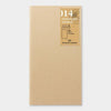 Travelers Notebook 014 Refill Kraft Paper - Regular