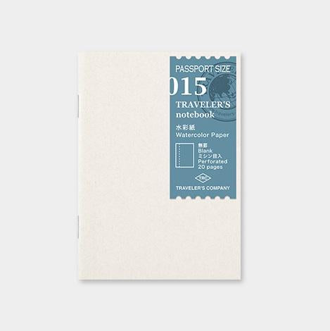 travelers notebook 015 Refill Watercolour Paper - Passport Size