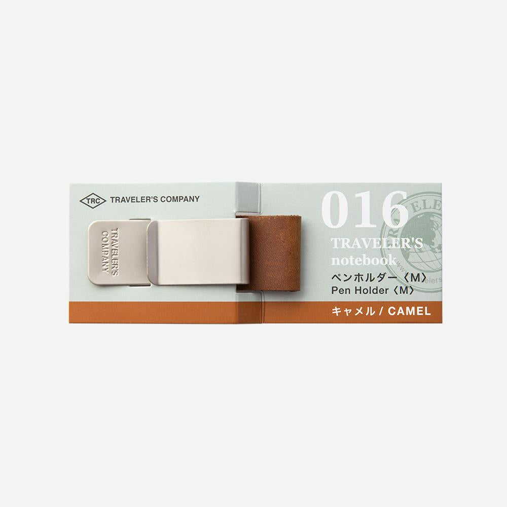 Travelers Notebook 016 Pen Holder - Camel