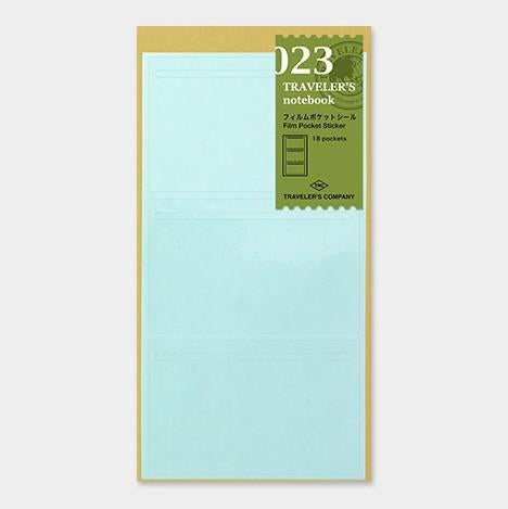 travelers notebook 023 Refill Film Pocket Sticker