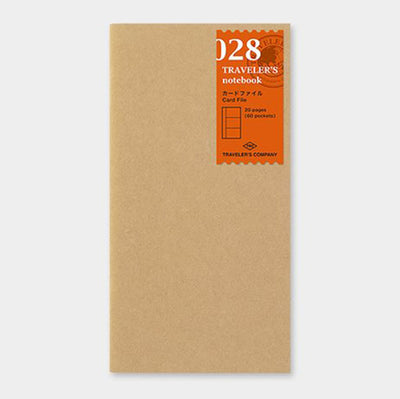 028 Refill Card File - Regular Size