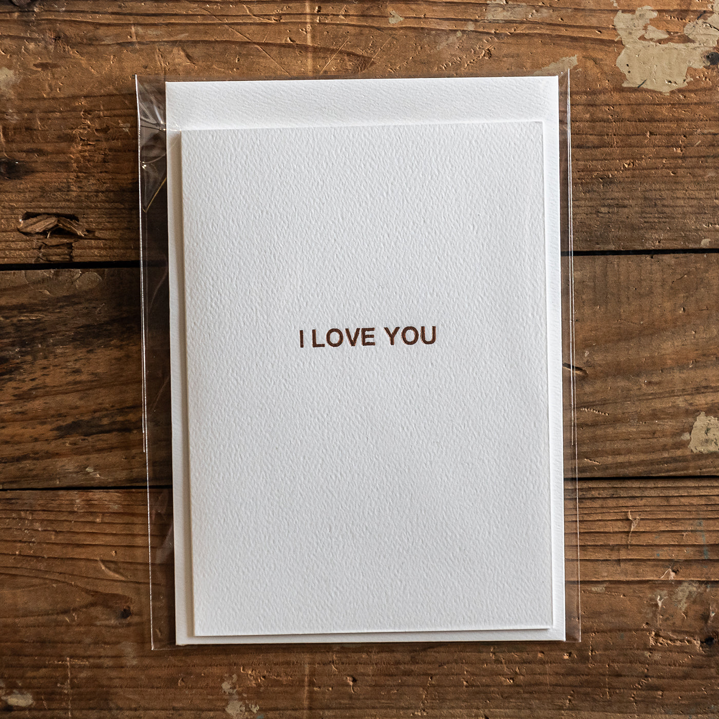 Standard Bindery Greeting Card Gift I Love You Brisbane