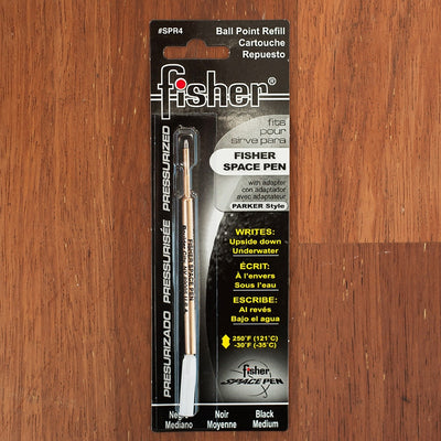Space Pen Refill - Medium Point - 2 Colours Available Black