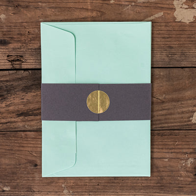 C6 Envelopes - Pack of 5 - Evergreen - Standard Bindery