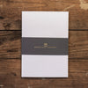 A6 Folded Writing Cards - Pack of 5 - Ghost