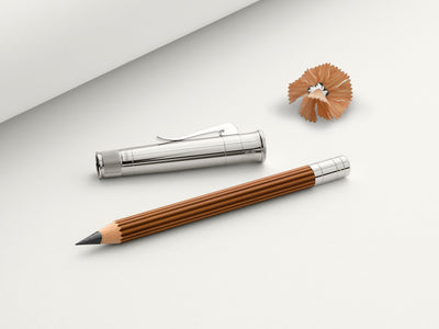 Graf von Faber-Castell Perfect Pencil Magnum - Platinum Plated - Brown