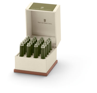 Olive Green - Box of 20 - International Standard Ink Cartridges