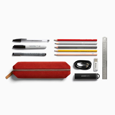 pen case red