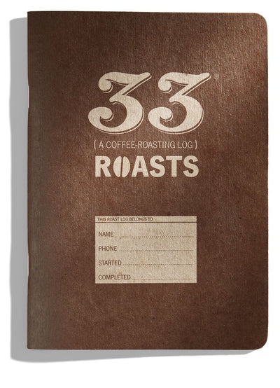33 Roasts coffee roasting journal