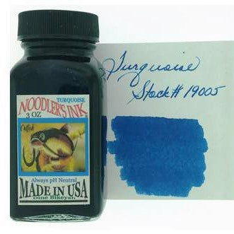 Turquoise Fountain Pen Ink 89ml (3oz)