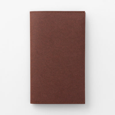MD Paper Notebook Cover -  B6 Slim - 10th Anniversary - Dark Brown
