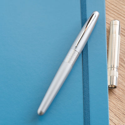 MR Fountain Pen Silver Dots - Bookbinders Stationery Store