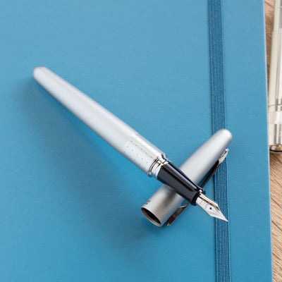 Silver Metropolitan Fountain Pen