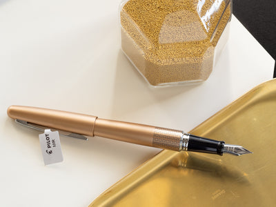 Gold Fountain Pen by Pilot - Bookbinders Stationery Store
