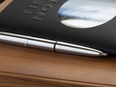 Chrome Bullet Space Pen by Fisher
