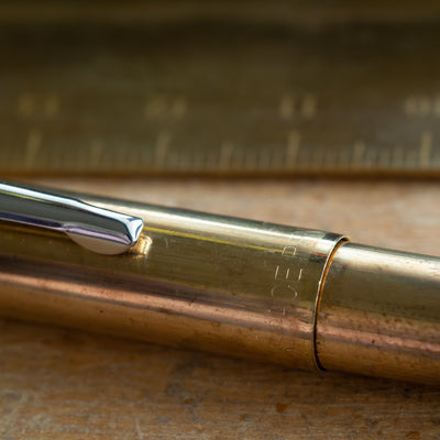 fisher cap-o-matic brass space pen