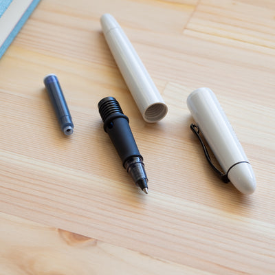 Ink Rollerball Pen - Arctic White