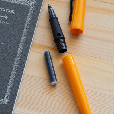 Ink Rollerball Pen - Delhi Orange