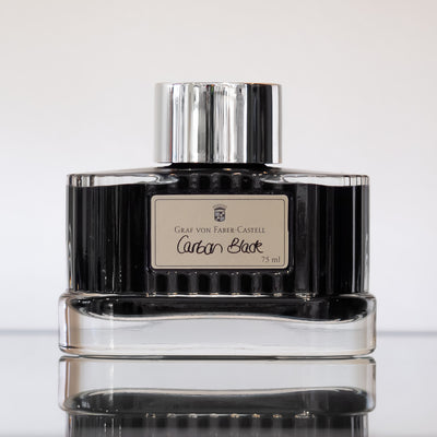 Graf von Faber-Castell Carbon Black - 75ml - Fountain Pen Ink