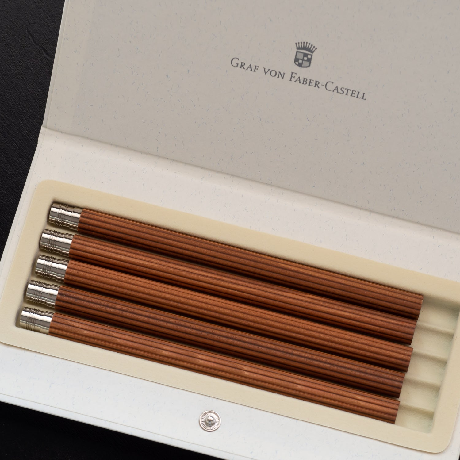 Graf von Faber-Castell Perfect Pencil Refill Set - Brown