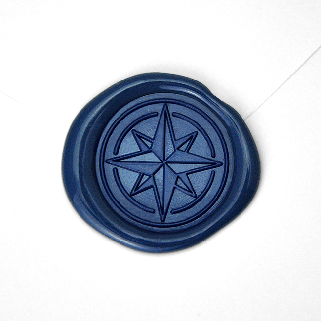 Wax Seal - Compass