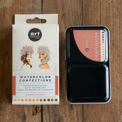 Watercolour Confections Set - Complexion