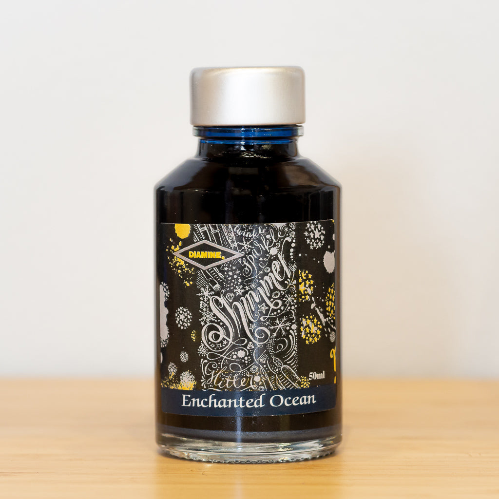 Diamine Enchanted Ocean Shimmering Ink - 50ml