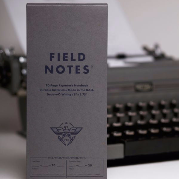 Field Notes - Pack of 2 - Front Page Reporter's Notebook Ruled