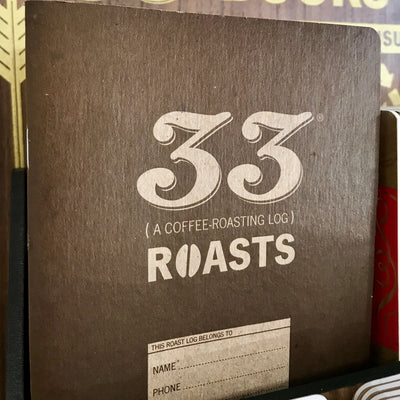 33 coffee roasts notebook