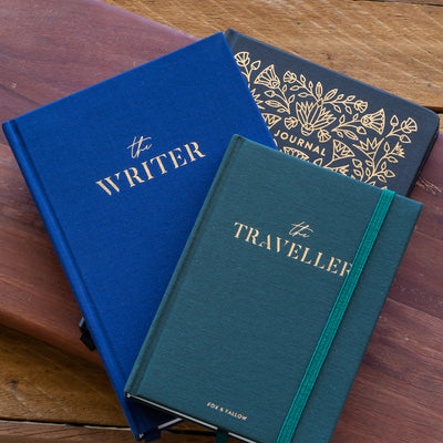 The Traveller Mini Travel Diary Fox & Fallow