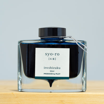 Pilot Iroshizuku Syo-ro Dew on Pine Tree