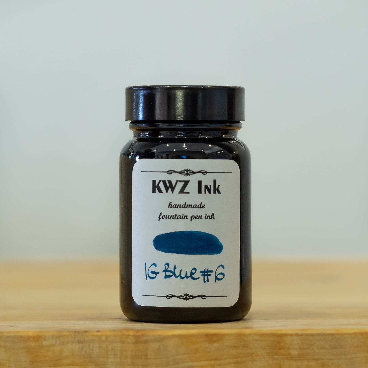 KWZ iron gall blue #6 fountain pen ink