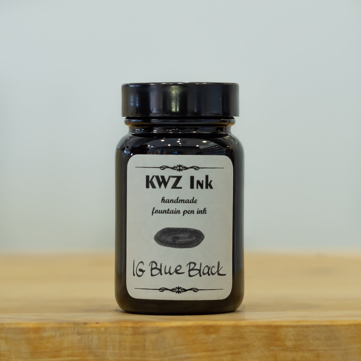 KWZ Iron Gall Blue Black fountain pen ink
