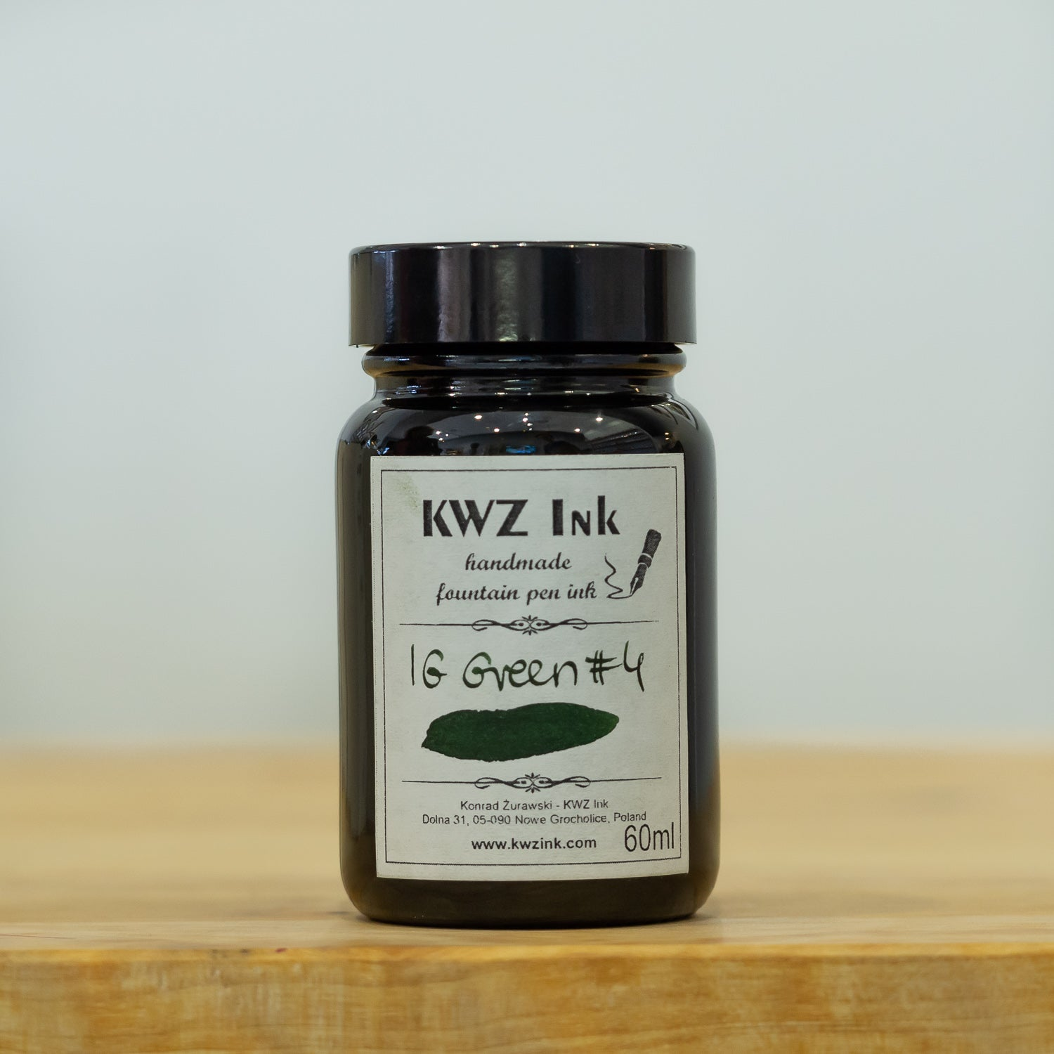 kwz iron gall ink green #4