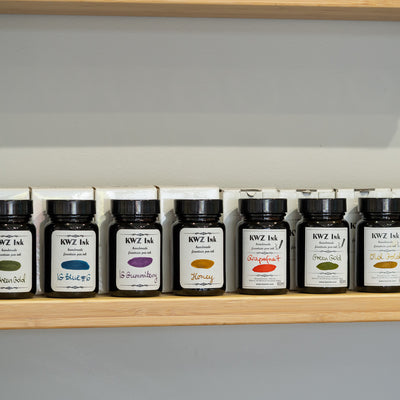 kwz iron gall ink colours