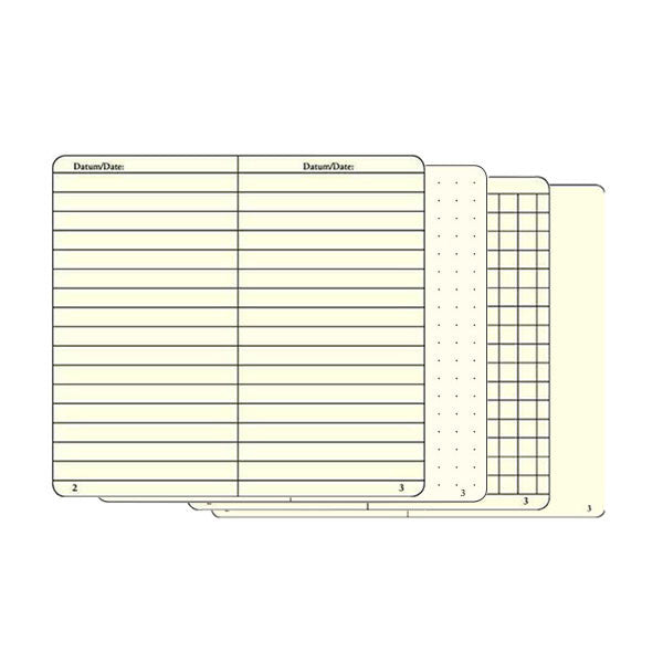 Notebook A6 - Army leuchtturm