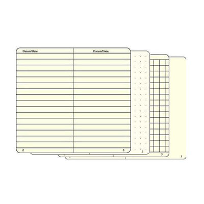 Leuchtturm Notebook A5 - Army page options