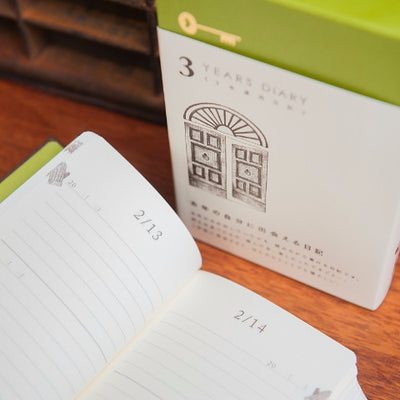3 Year Diary with Slipcase by Midori - Bookbinders Online